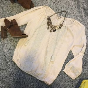 Lucky Brand White Top